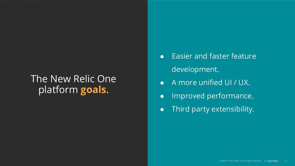 ©2008–18 New Relic, Inc. All rights reserved 21...