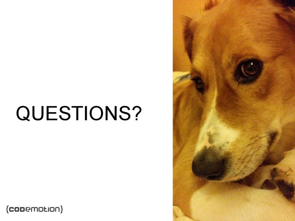 MADRID · NOV 21-22 · 2014 QUESTIONS?