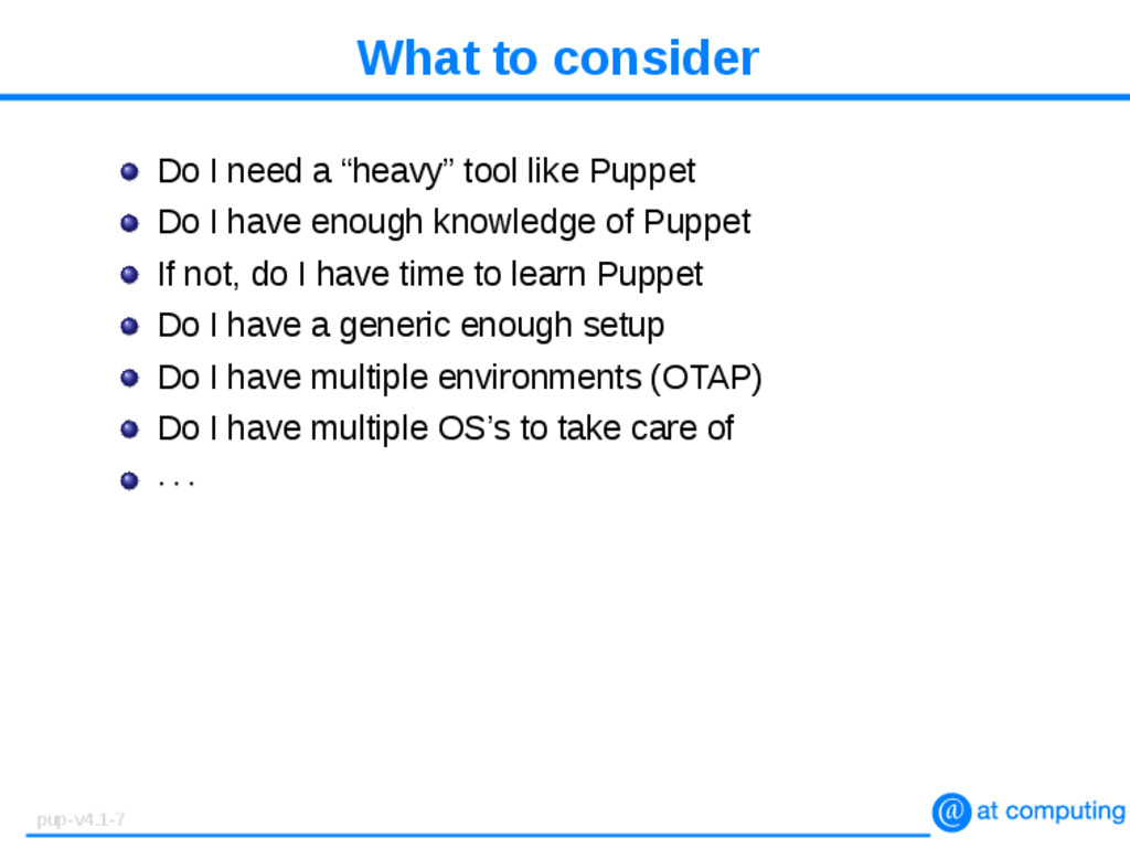 """What to consider Do I need a """"heavy"""" tool like ..."""
