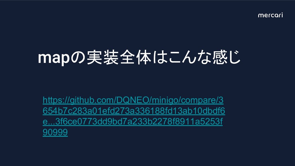 の実装全体はこんな感じ https://github.com/DQNEO/minigo/com...