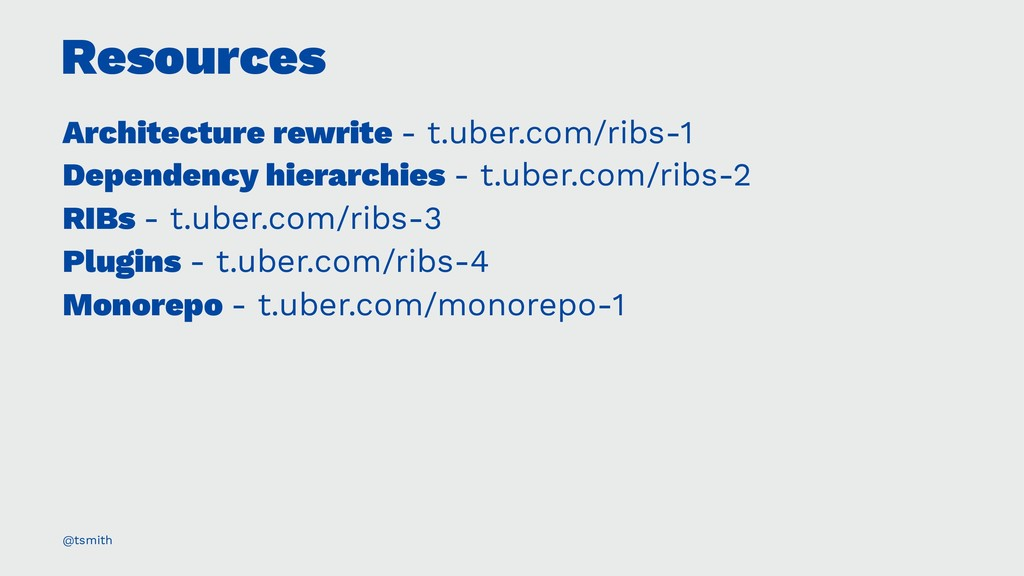 Resources Architecture rewrite - t.uber.com/rib...