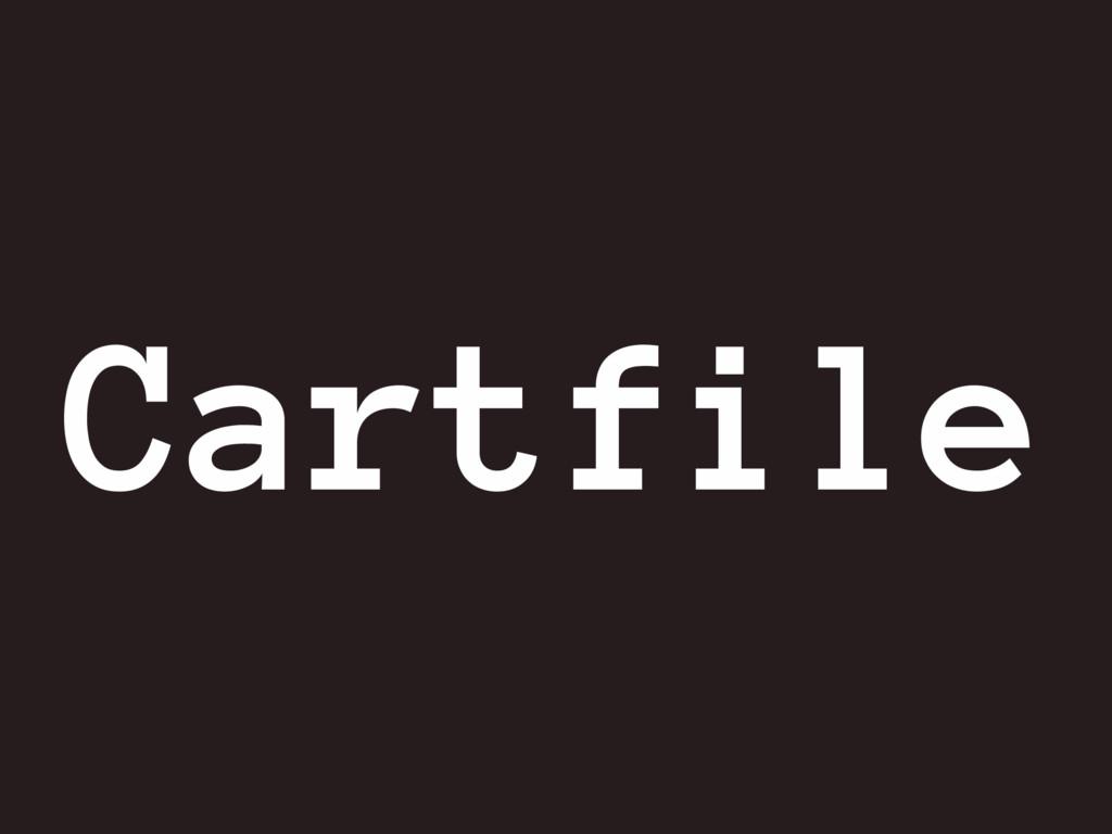 Cartfile