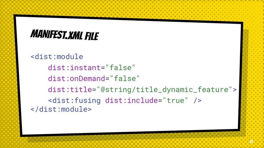 "MANIFEST.XML FILE <dist:module dist:instant=""fa..."