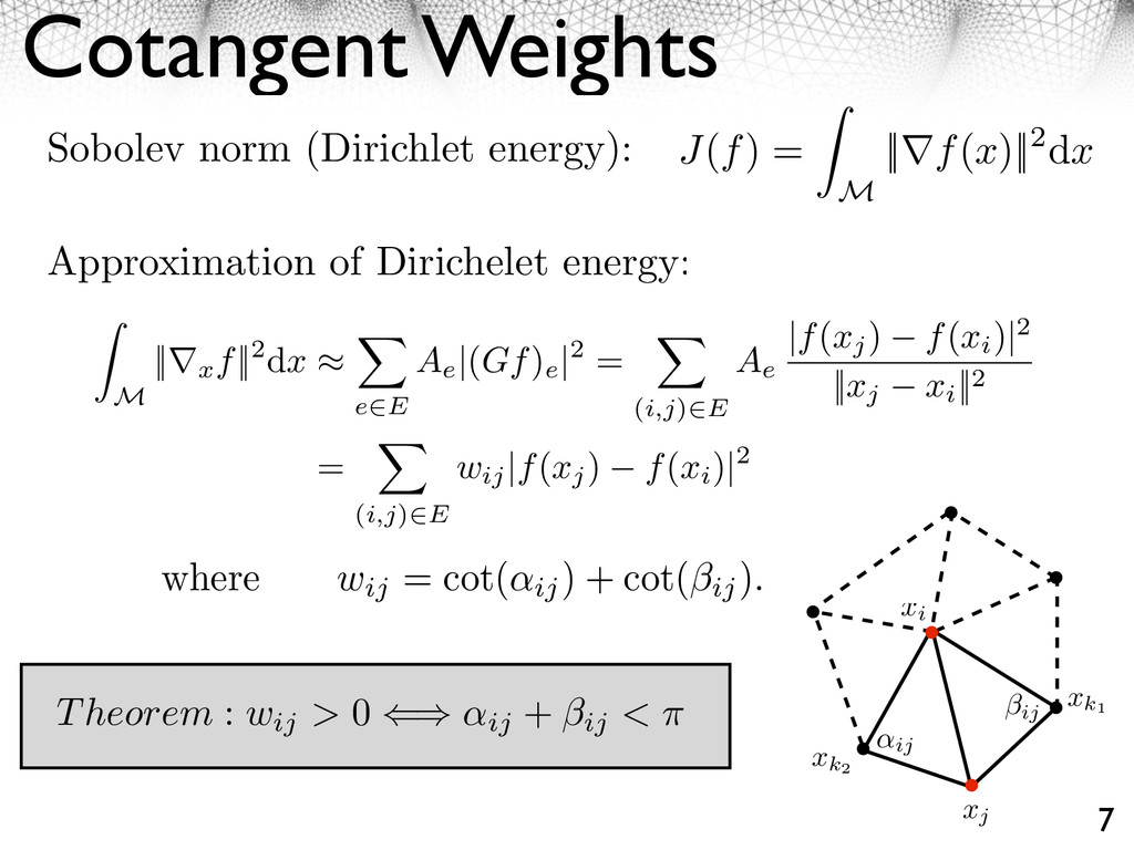 ⇧ (i, j) ⇤ E, wij = 1. Distance weights: they d...