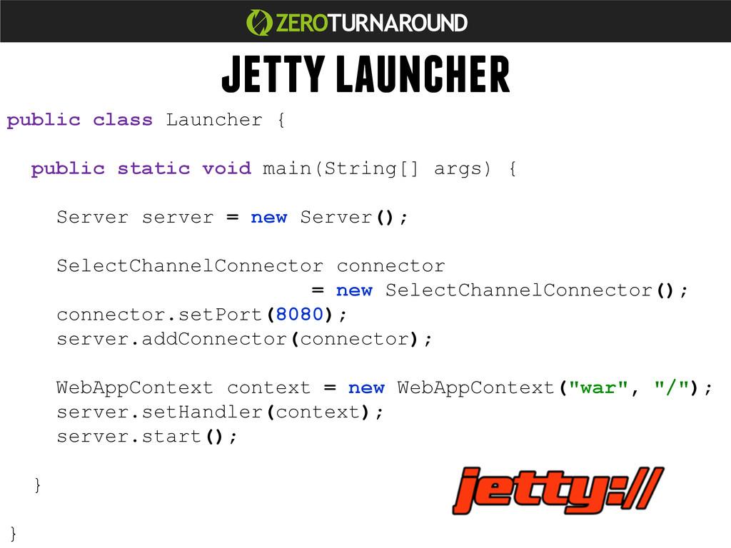 public class Launcher { public static void main...