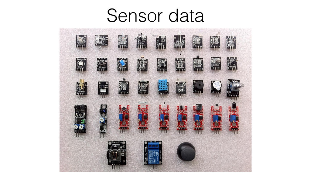 Sensor data