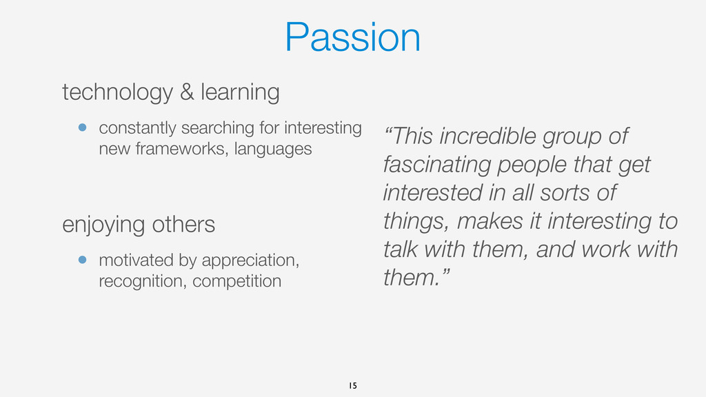 Passion technology & learning • constantly sear...