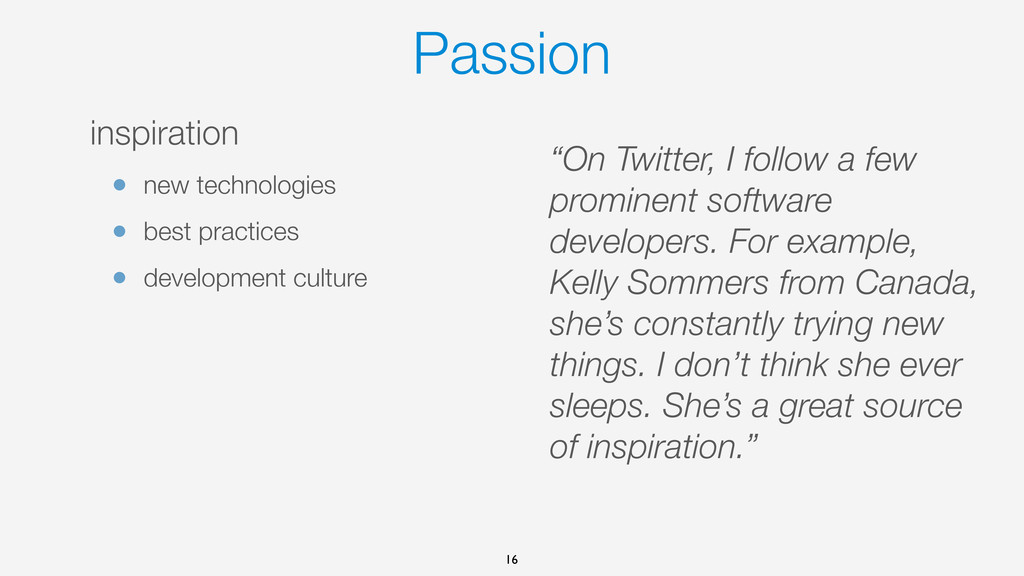 Passion inspiration • new technologies • best p...