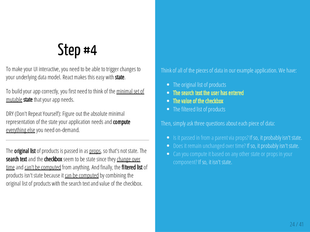 Step #4 To make your UI interactive, you need t...