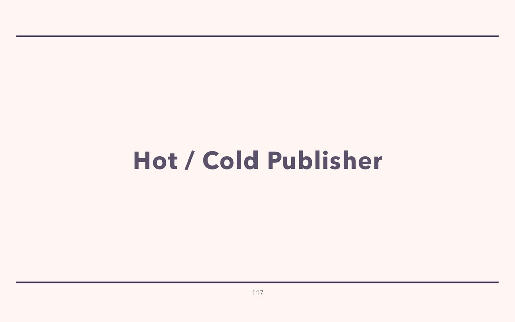 117 Hot / Cold Publisher