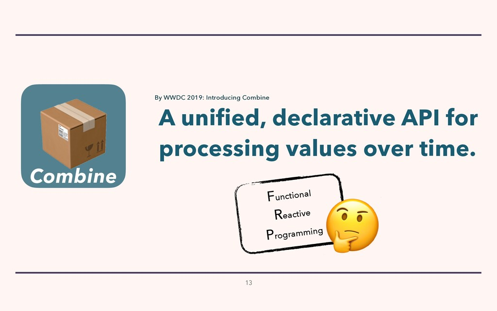 13 A unified, declarative API for  processing ...