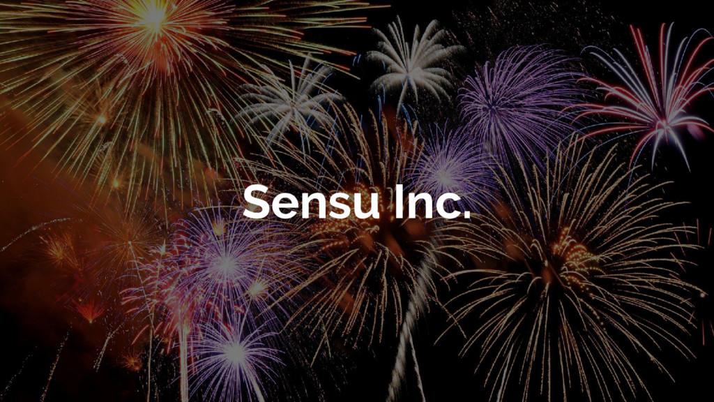 Sensu Inc.