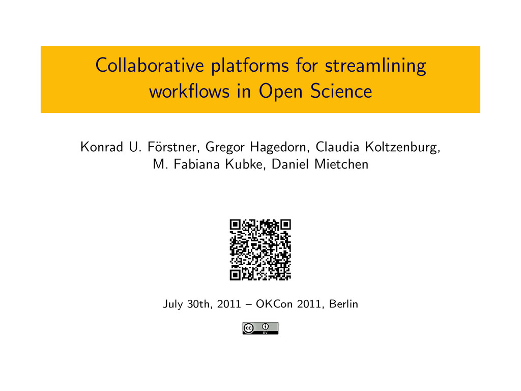 Collaborative platforms for streamlining workflo...