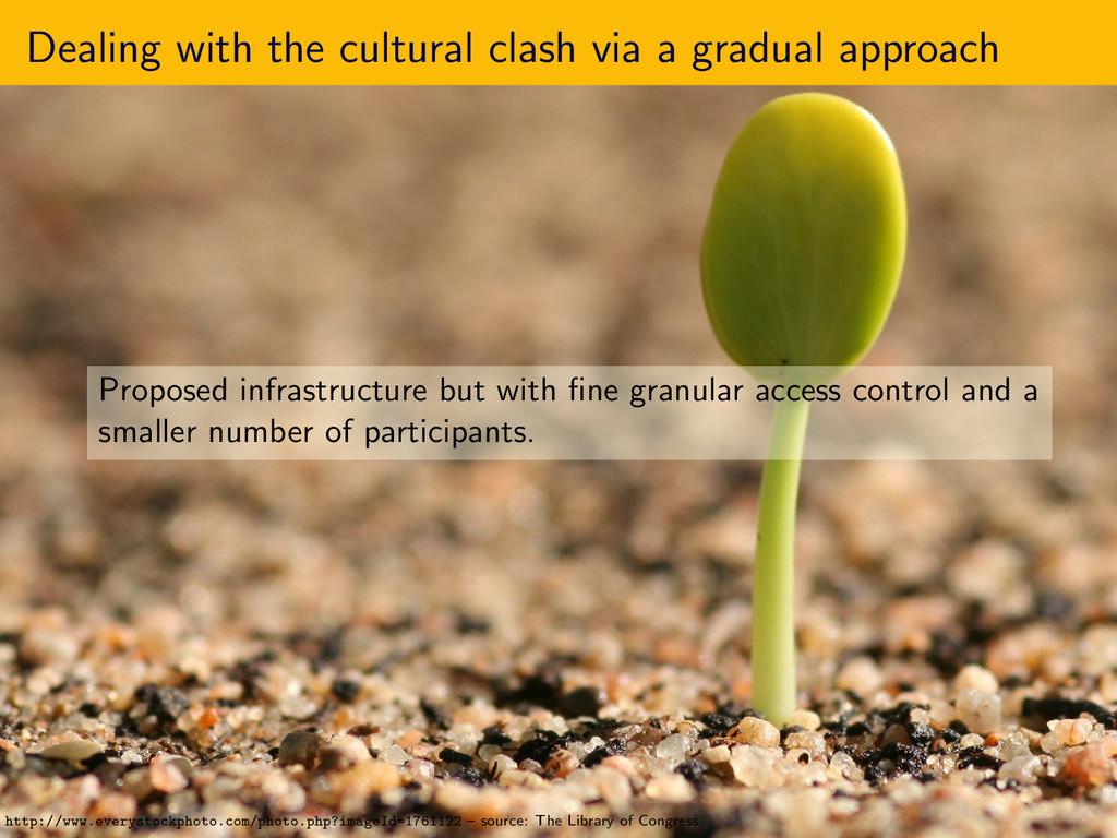 Dealing with the cultural clash via a gradual a...