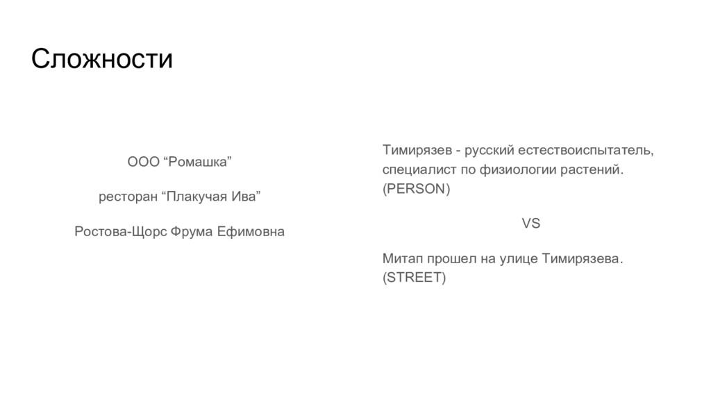 "Сложности ООО ""Ромашка"" ресторан ""Плакучая Ива""..."