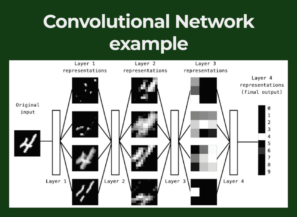 Convolutional Network example