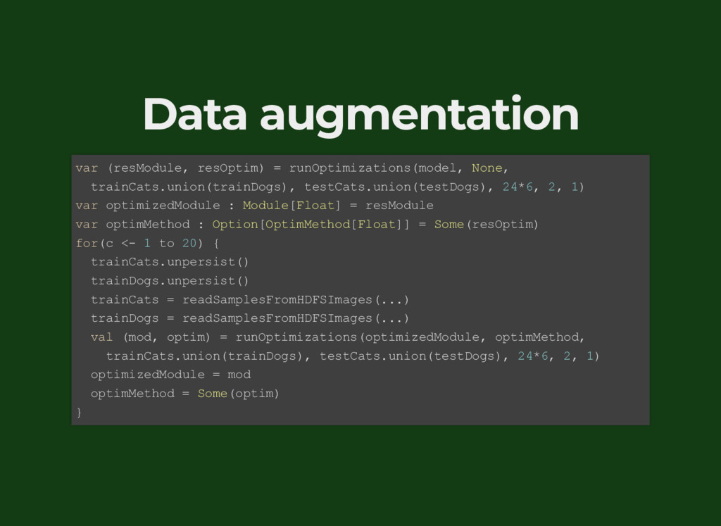 Data augmentation var (resModule, resOptim) = r...