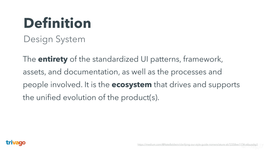 Definition Design System The entirety of the st...