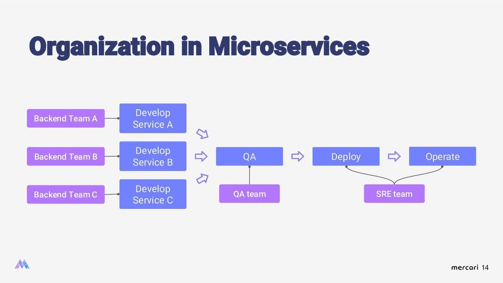 14 Organization in Microservices Develop Servic...
