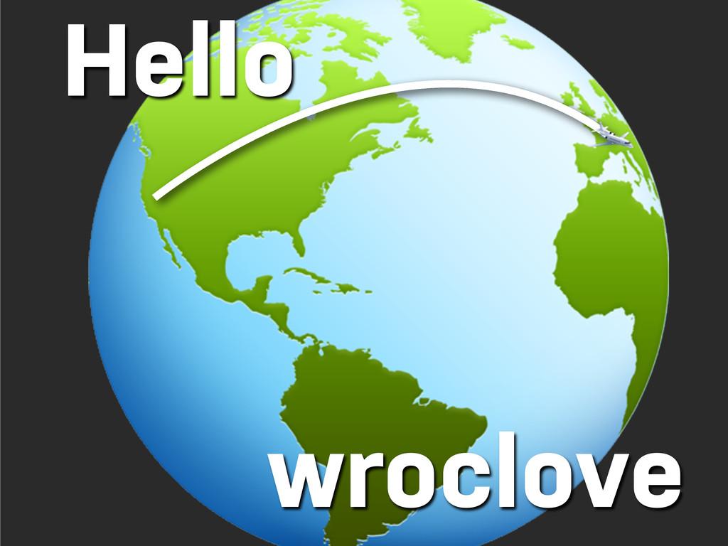 Hello wroclove