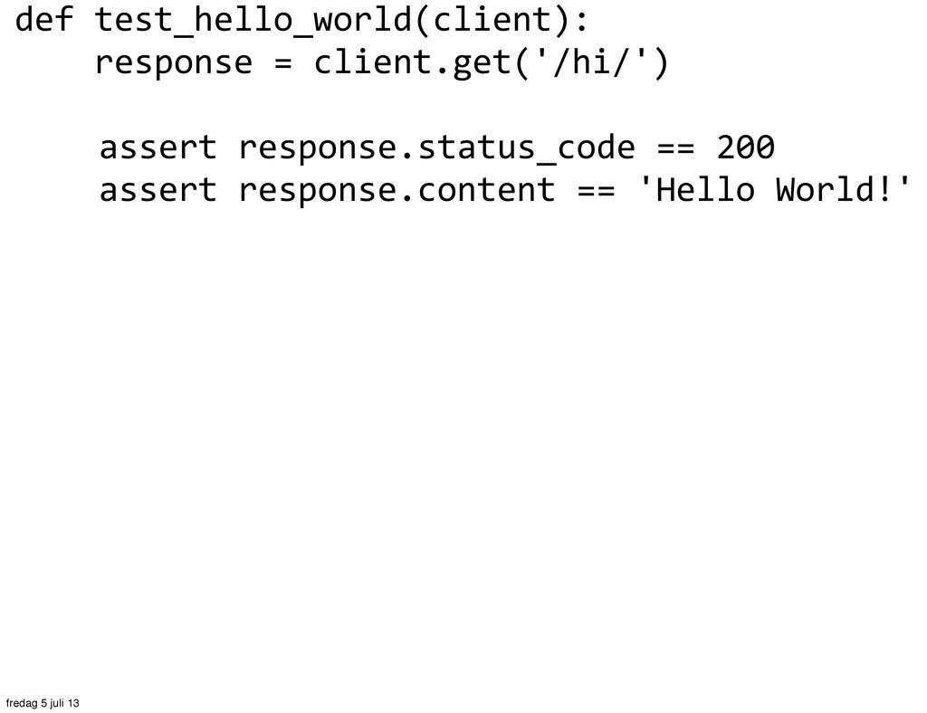 def test_hello_world(client):    ...