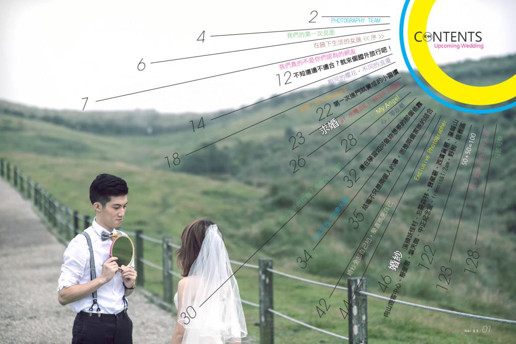 C NTENTS k H wedding & Upcoming Wedding 4 我們的第一...
