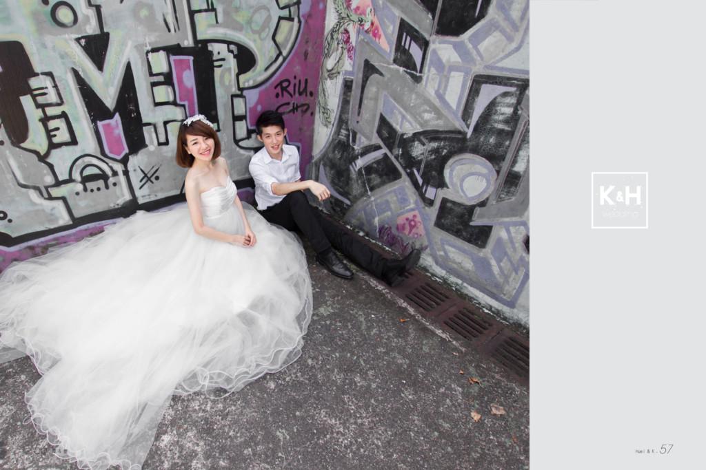 k H wedding & 56.澤 & 隻 Huei & K. 57