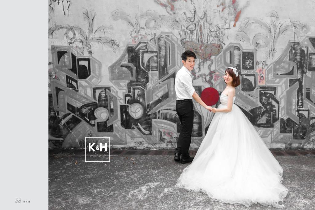 k H wedding & 58.澤 & 隻 Huei & K. 59