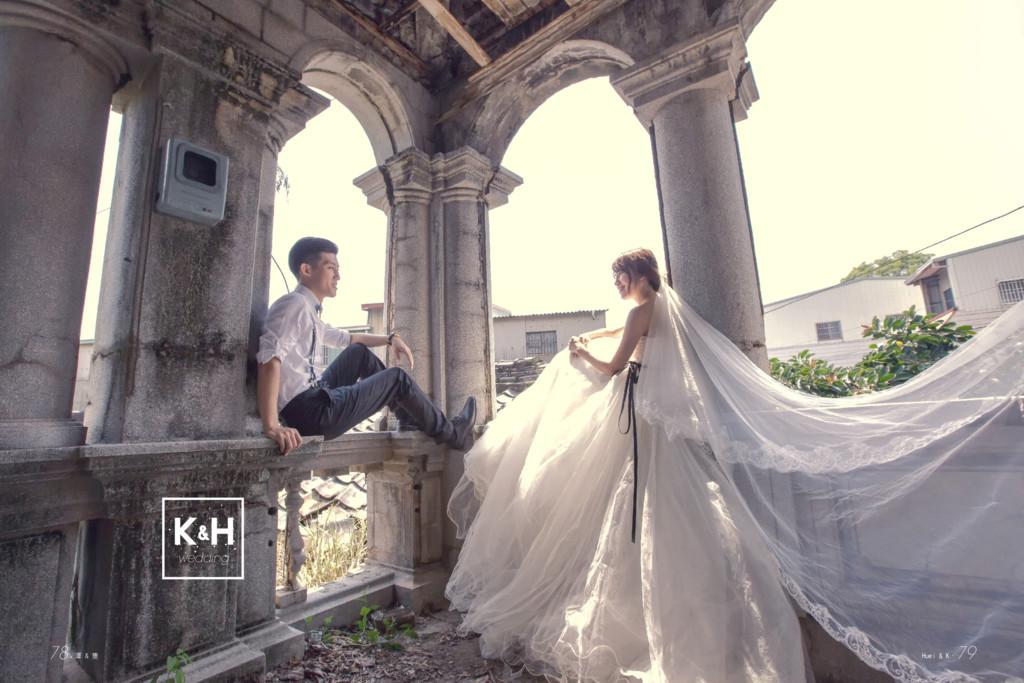k H wedding & Huei & K. 79 78.澤 & 隻