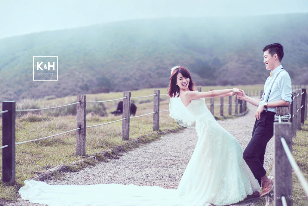 k H wedding & Huei & K. 93 92.澤 & 隻