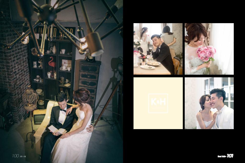 k H wedding & Huei & K. 101 100.澤 & 隻