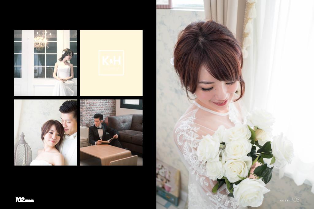 k H wedding & Huei & K. 103 102.澤 & 隻