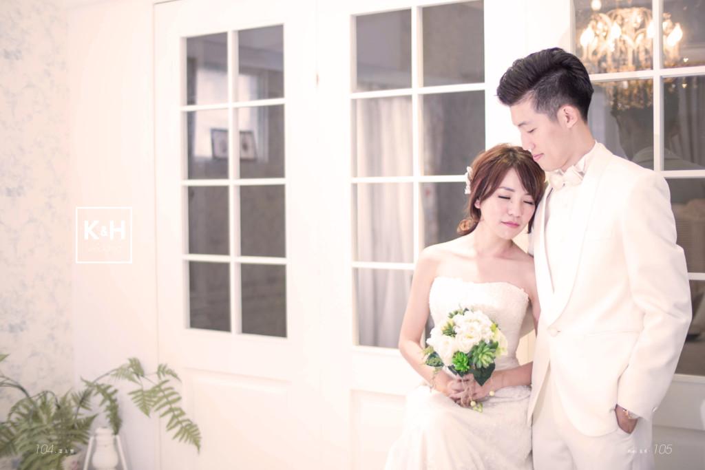 k H wedding & Huei & K. 105 104.澤 & 隻