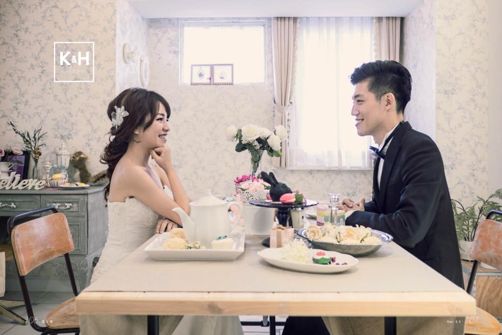 k H wedding & Huei & K. 107 106.澤 & 隻