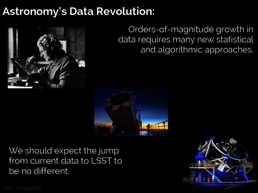 Jake VanderPlas Astronomy's Data Revolution: Or...