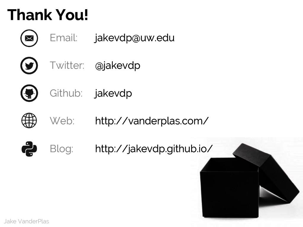 Jake VanderPlas Jake VanderPlas Email: jakevdp@...
