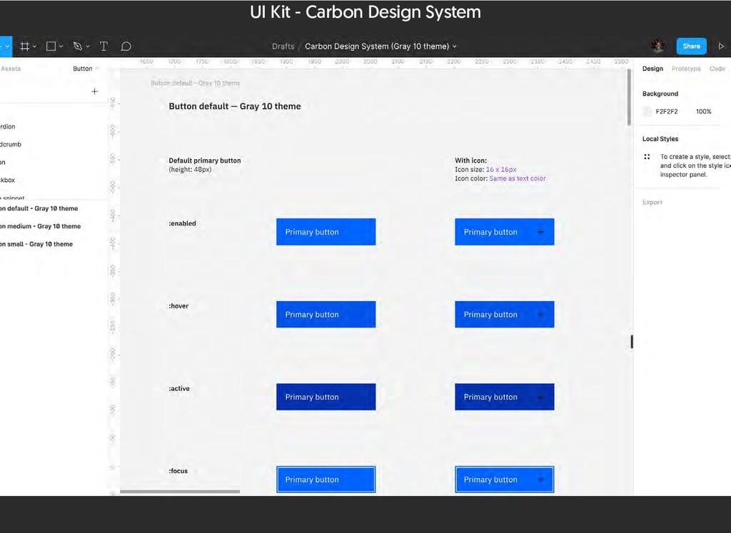 UI Kit - Carbon Design System
