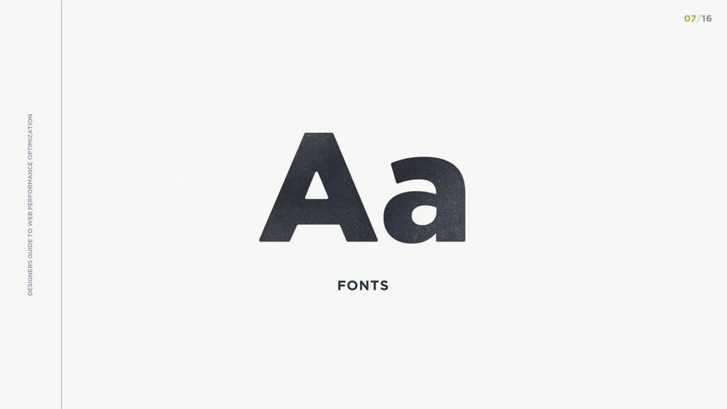 FONTS DESIGNERS GUIDE TO WEB PERFORMANCE OPTIMI...