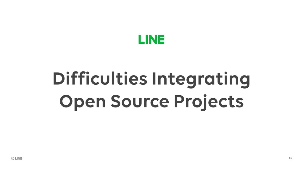 Difficulties Integrating Open Source Projects 13