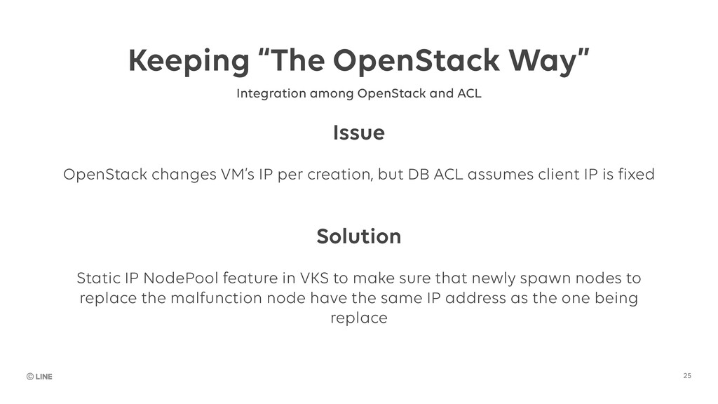 "Keeping ""The OpenStack Way"" 25 Integration amon..."