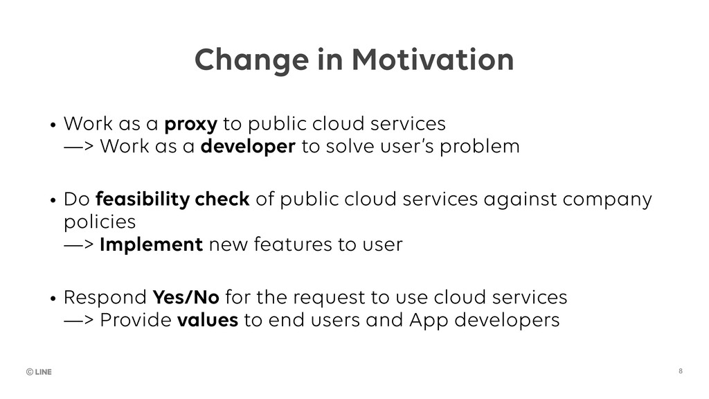 Change in Motivation • Work as a proxy to publi...