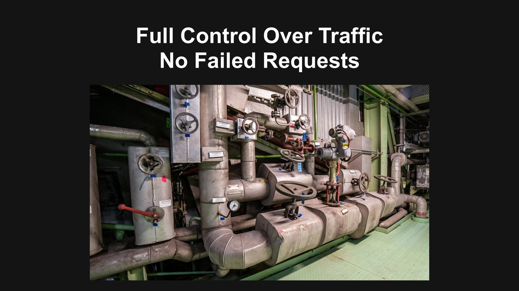Full Control Over Traffic No Failed Requests