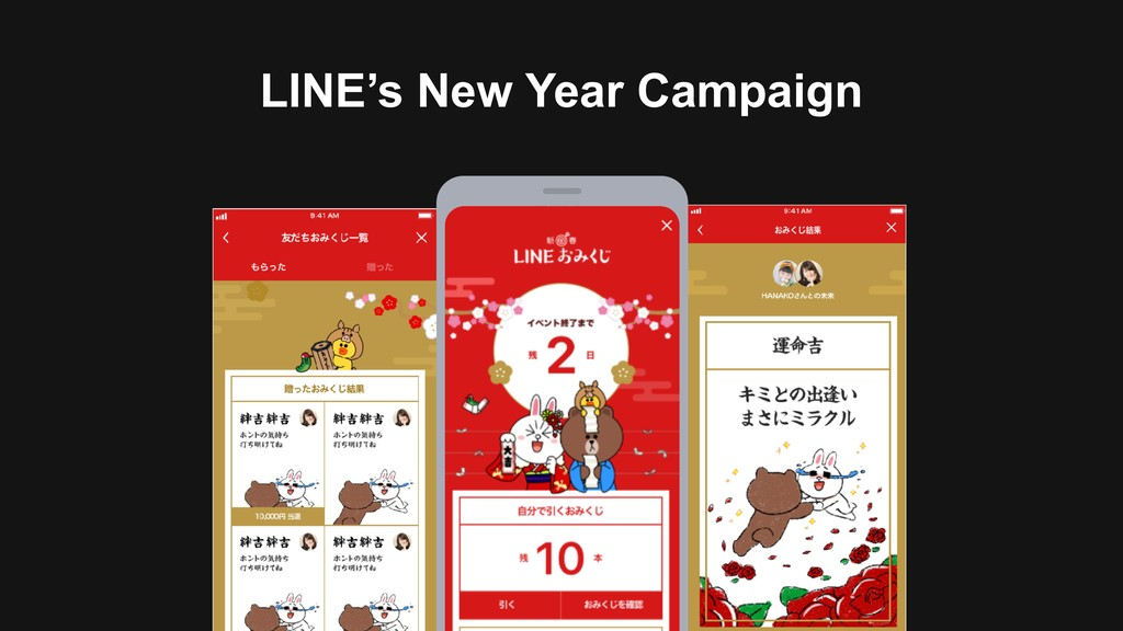 LINE's New Year Campaign