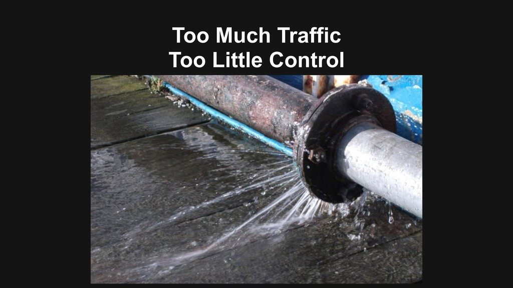 Too Much Traffic Too Little Control