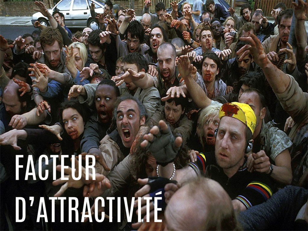 FACTEUR D'ATTRACTIVITÉ