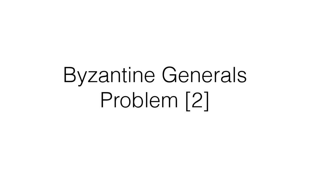 Byzantine Generals Problem [2]