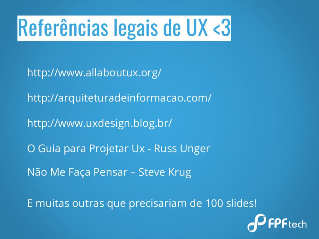 Referências legais de UX <3 http://www.allabout...