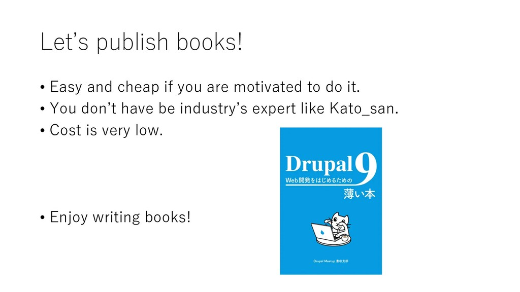 Let's publish books! • Easy and cheap if you ar...