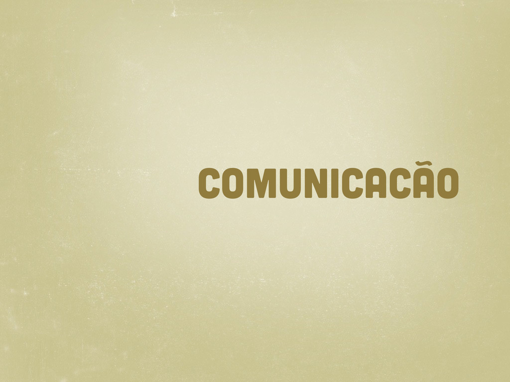 comunicacão