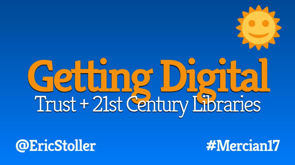 #Mercian17 @EricStoller Getting Digital Trust +...